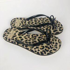NEW Kate Spade Nova Sandal Black Cheetah 6